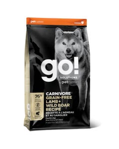 Go! Solutions Carnivore - Grain Free Lamb + Wild Boar Recipe