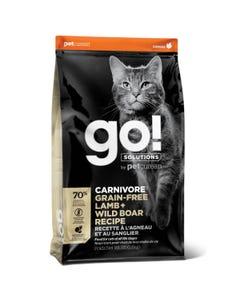 Go! Solutions Carnivore - Grain Free Lamb + Wild Boar Cat Recipe