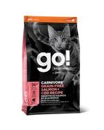 Go! Solutions Carnivore - Grain Free Salmon + Cod Cat Recipe