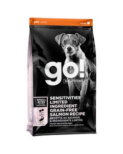 Go! Solutions Sensitivities Limited Ingredient Grain Free Small Bites Salmon Recipe