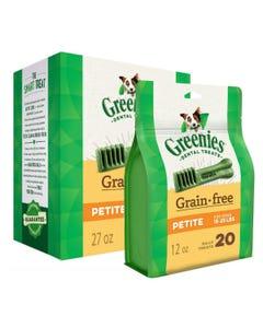 Greenies Grain Free Dental Chews - Petite