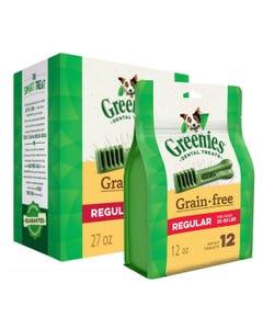 Greenies Grain Free Dental Chews - Regular