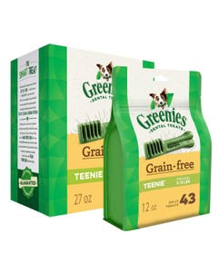 Greenies Grain Free Dental Chews - Teenie