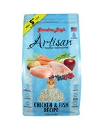 Grandma Lucy's Artisan Freeze Dried/Grain-Free Cat Food - Chicken & Fish Recipe