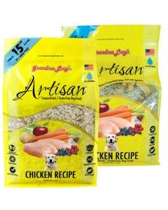 Grandma Lucy's Artisan Freeze Dried/Grain-Free Dog Food - Chicken Recipe