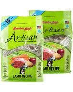 Grandma Lucy's Artisan Freeze Dried/Grain-Free Dog Food - Lamb Recipe
