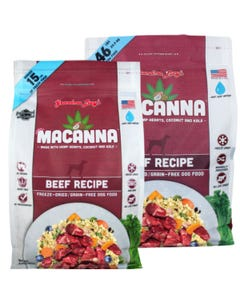 Grandma Lucy's Macanna Freeze Dried/Grain-Free Dog Food - Beef Recipe