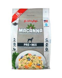 Grandma Lucy's Macanna Freeze Dried/Grain-Free Dog Food - Pre-Mix Recipe