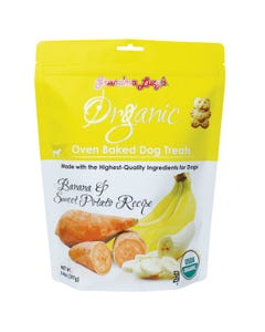 Grandma Lucy's Organic Banana and Sweet Potato Oven-Baked Dog Treats