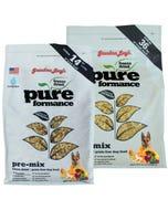 Grandma Lucy's Pureformance Freeze Dried/Grain-Free Dog Food - Pre-Mix Recipe