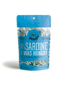 The Granville Island Pet Treatery Cat Treats - All of a Sardine I was Hungry