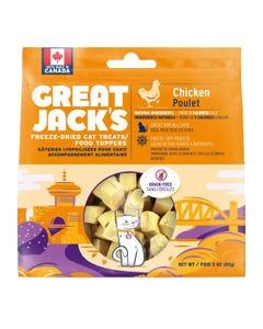 Great Jack's Freeze Dried Raw Cat Treats - Chicken