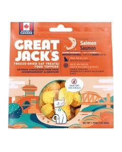 Great Jack's Freeze Dried Raw Cat Treats - Salmon