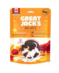Great Jack's Big BItz Dog Treats - Liver with Cheese Recipe
