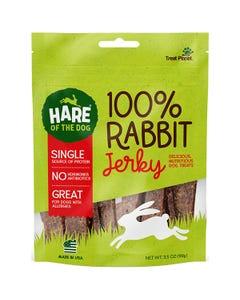 Hare of the Dog 100% Rabbit Jerky Treats for Dogs