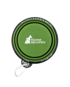 Homes Alive Portable Collapsible Travel Bowl
