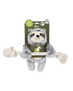 Homes Alive Pets Syd The Sloth Dog Toy