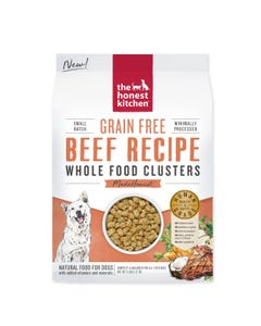 The Honest Kitchen Whole Food Clusters for Dogs - Grain Free Beef