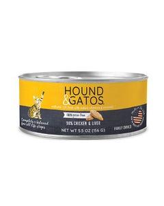 Hound & Gatos Chicken & Liver Recipe for Cats Wet Food