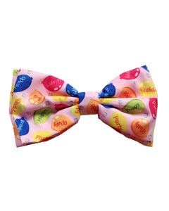 Huxley & Kent Party Tie in Pink Bow Tie for Dogs