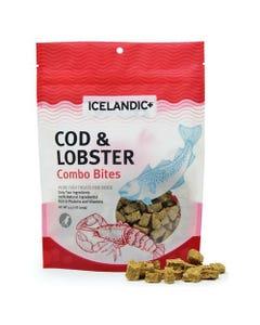 Icelandic+ Cod & Lobster Combo Bites Dog Treats