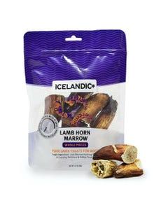 Icelandic+ Lamb Horn Marrow Whole Pieces Dog Treat