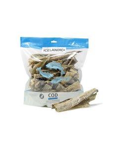 Icelandic+ Cod Skin Pieces Dog Treats 1-lb Bulk Bag