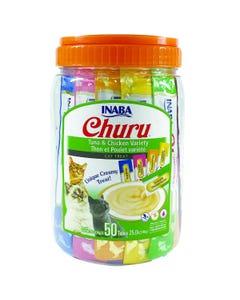 Inaba CIAO Churu Purées - Tuna & Chicken 50P