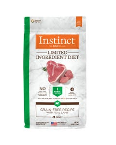 Instinct Limited Ingredient Diet Grain-Free Recipe with Real Lamb