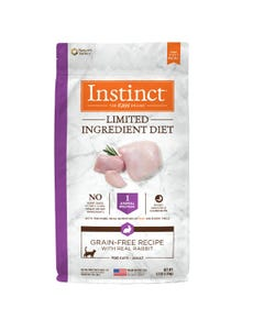 Instinct Limited Ingredient Diet Grain-Free Recipe with Real Rabbit for Cats