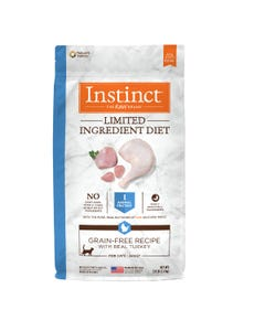 Instinct Limited Ingredient Diet Grain-Free Recipe with Real Turkey for Cats