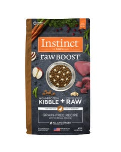 Instinct Raw Boost Grain-Free Recipe with Real Duck