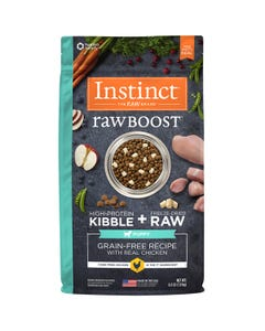 Instinct Raw Boost Grain-Free Recipe with Real Chicken for Puppies