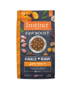 Instinct Raw Boost Grain-Free Recipe with Real Chicken for Gut Health Dog Food