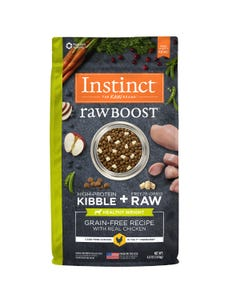 Instinct Raw Boost Grain-Free Recipe with Real Chicken For Healthy Weight