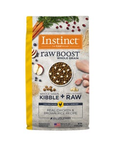 Instinct Raw Boost Whole Grain Recipe with Real Chicken & Brown Rice