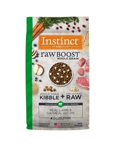 Instinct Raw Boost Whole Grain Recipe with Real Lamb & Oatmeal