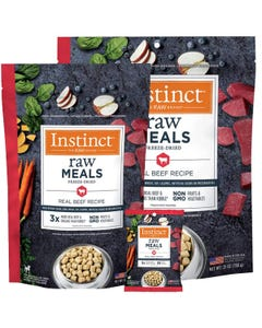 Instinct Raw Freeze-Dried Meals Real Beef Recipe