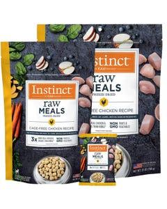 Instinct Raw Freeze-Dried Meals Real Chicken Recipe