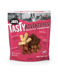 Jay's Tasty Adventure Snack Mix Dog Treats - Cheesy Beef Mix