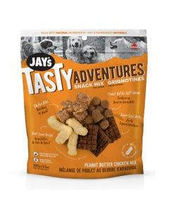 Jay's Tasty Adventure Snack Mix Dog Treats - Peanut Butter Chicken Mix