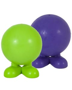 JW Good Cuz Puppy Toy - Green and Purple