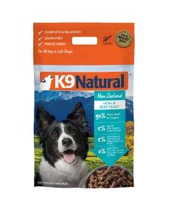 K9 Natural Raw Freeze Dried Hoki & Beef Feast