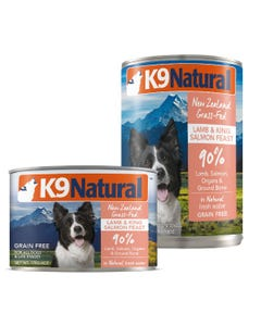 K9 Natural Lamb & King Salmon Feast Canned Dog Food