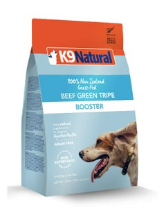 K9 Natural Freeze Dried Booster Beef Green Tripe Dog Food
