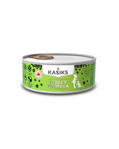 Kasiks Cage-Free Turkey Canned Cat Formula - 5.5 oz.