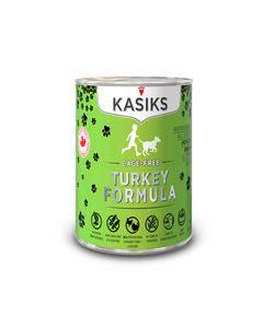 Kasiks Cage-Free Turkey Canned Dog Formula