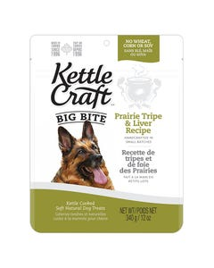 Kettle Craft Big Bite Prairie Tripe & Liver Treats - 12 oz.