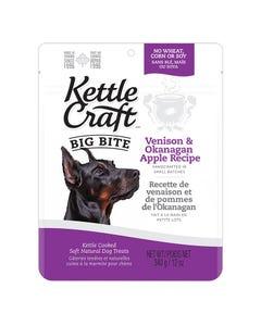 Kettle Craft Big Bite Venison & Okanagan Apple Treats - 12 oz.