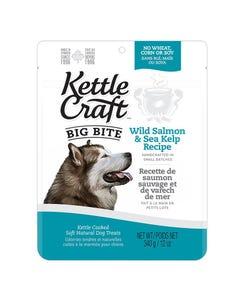 Kettle Craft Big Bite Wild Salmon & Sea Kelp Treats - 12 oz.